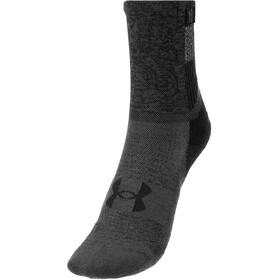 Under Armour Armourdry Run Crew sokker, sort/grå